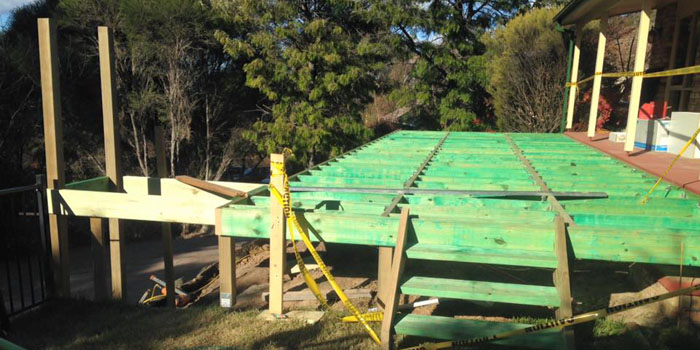 Timber Decking Canberra